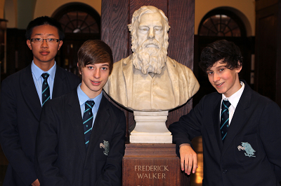 Students from The Manchester Grammar School